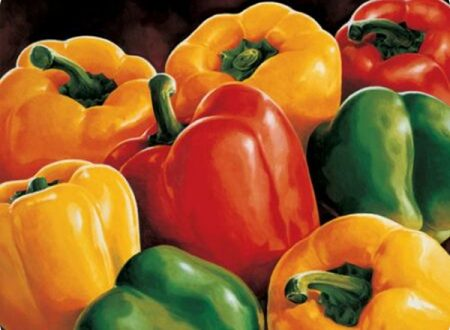 Peperoni in technicolor, il peperone di Carmagnola.