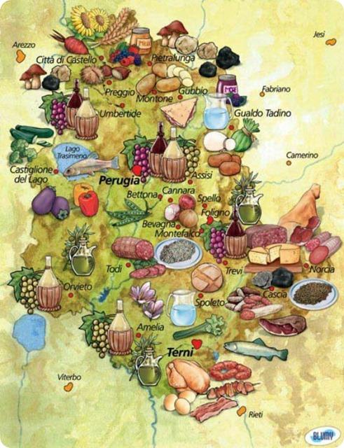 umbria-map-food