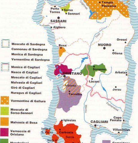 L'isola della Sardegna è la terra che presenta una delle vitivinicolture più antiche.